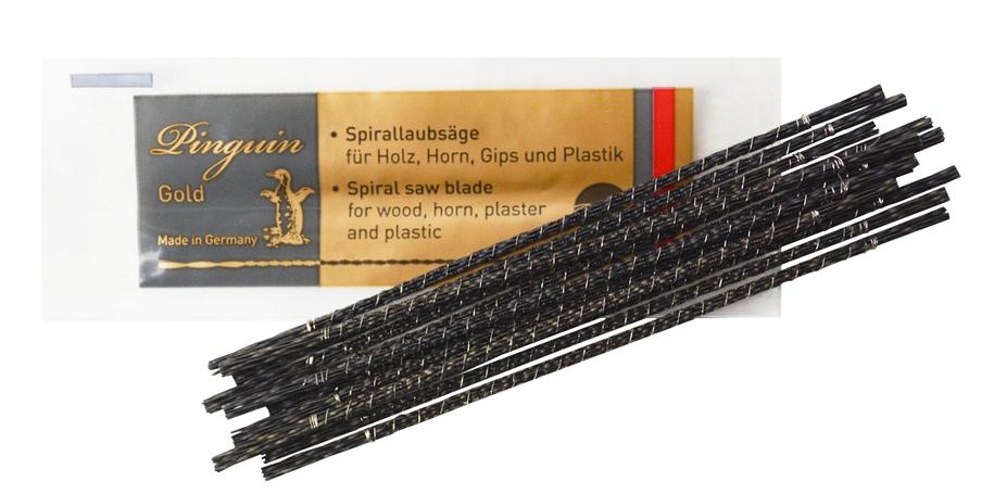 Pinguin Gold Spiral Wax Blades