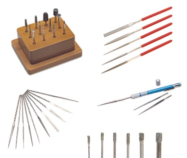 Diamond Burs, Files, & Drills