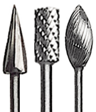 High-Speed Steel Burs