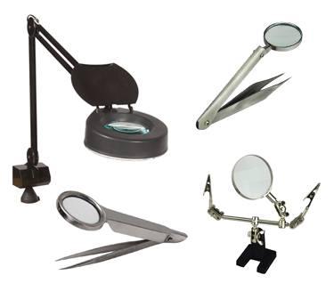 Magnifiers & Tweezers