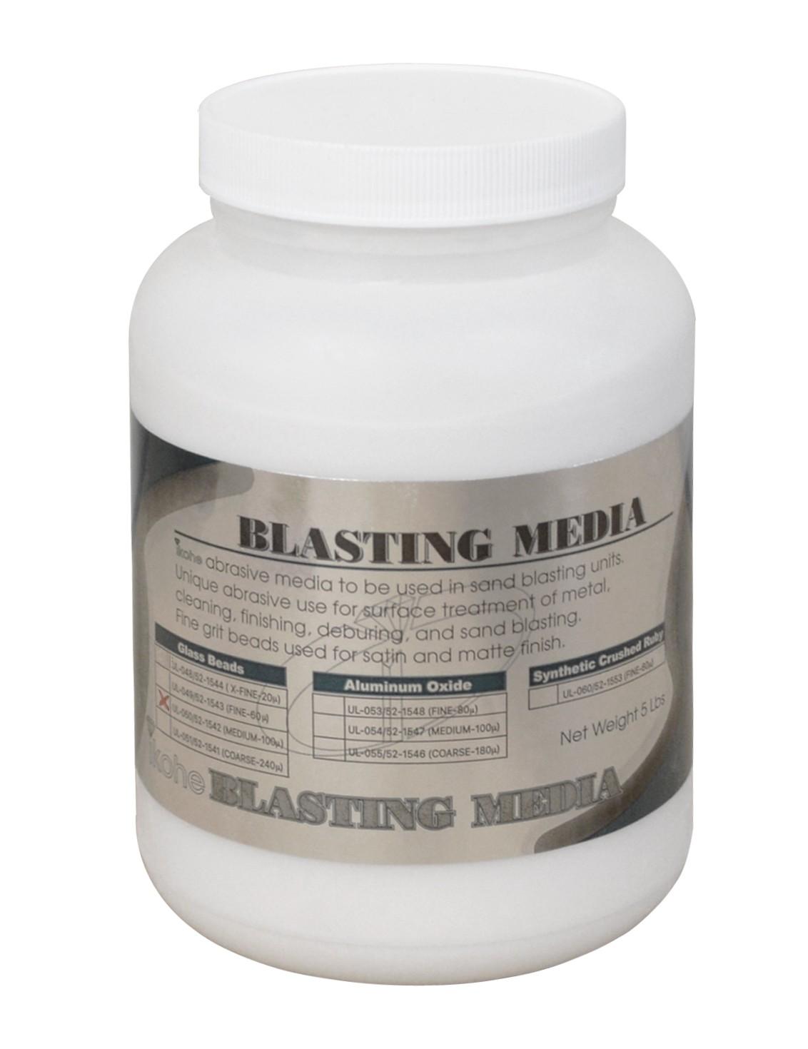 100 Micron Medium Abrasive Glass Beads Blasting Media 5 Lbs 52 1542 Pmc Supplies