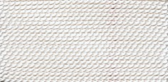 WHITE SILK BEAD CORD #12