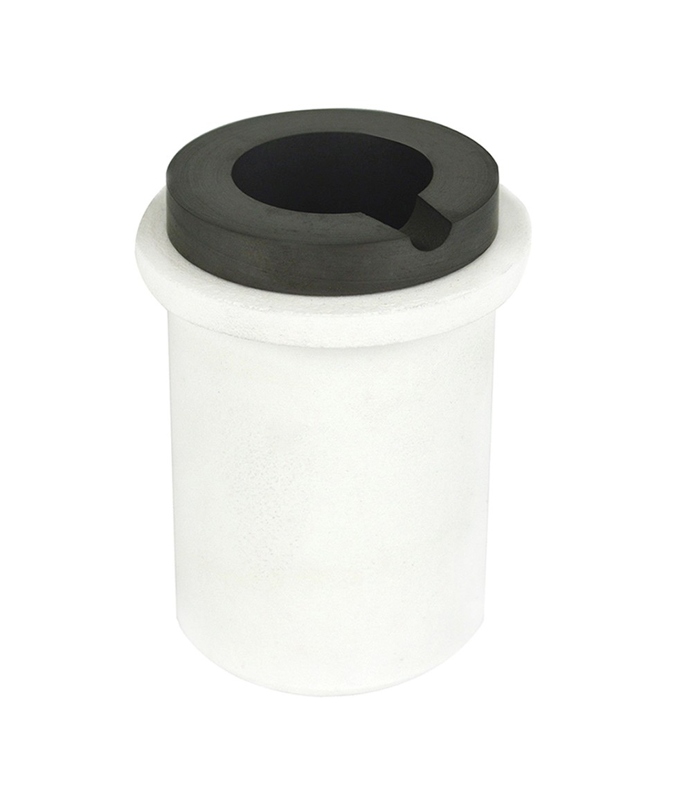 2 Kg Graphite Ceramic Induction Crucible