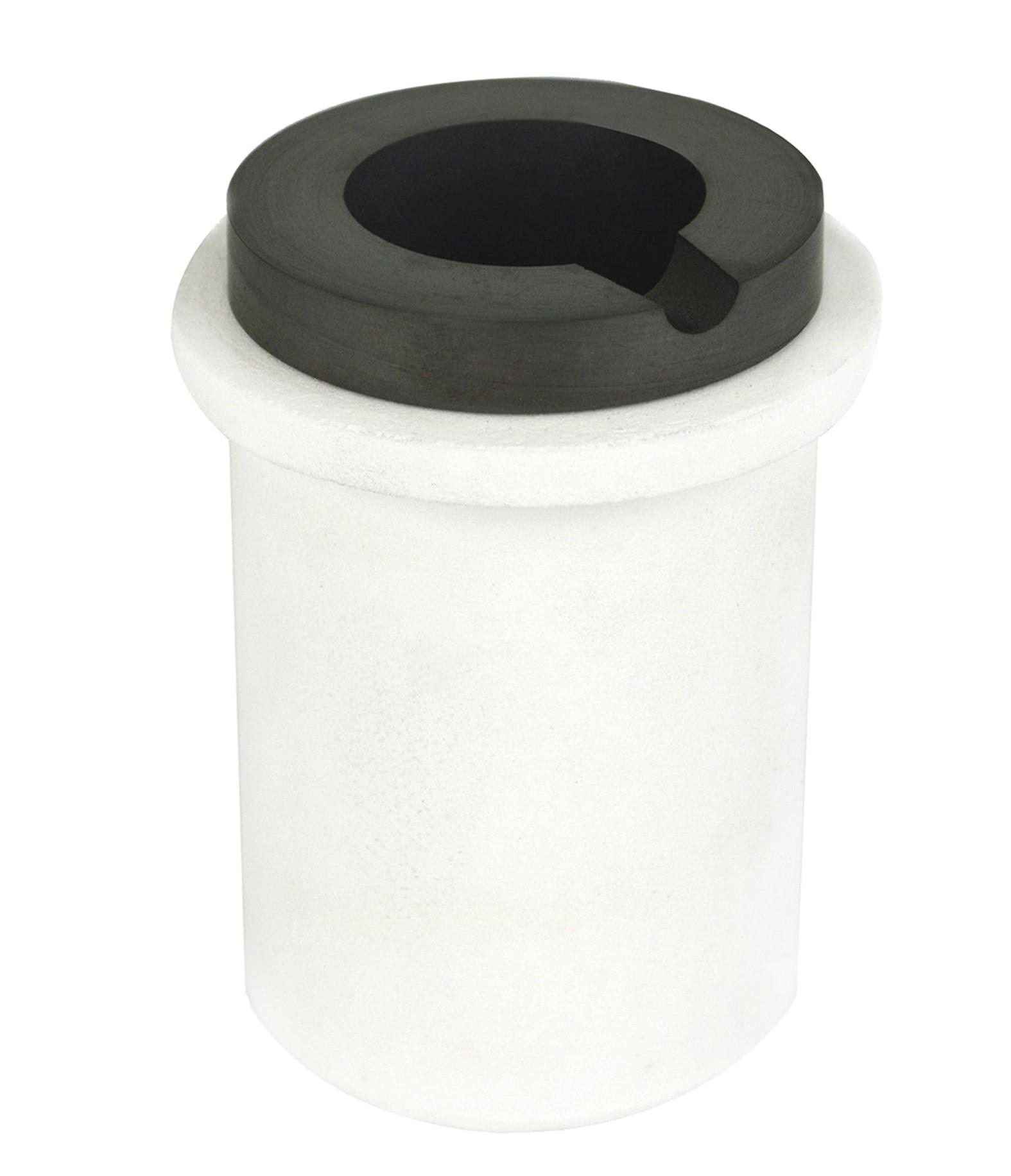 5 Kg Graphite Ceramic Induction Crucible