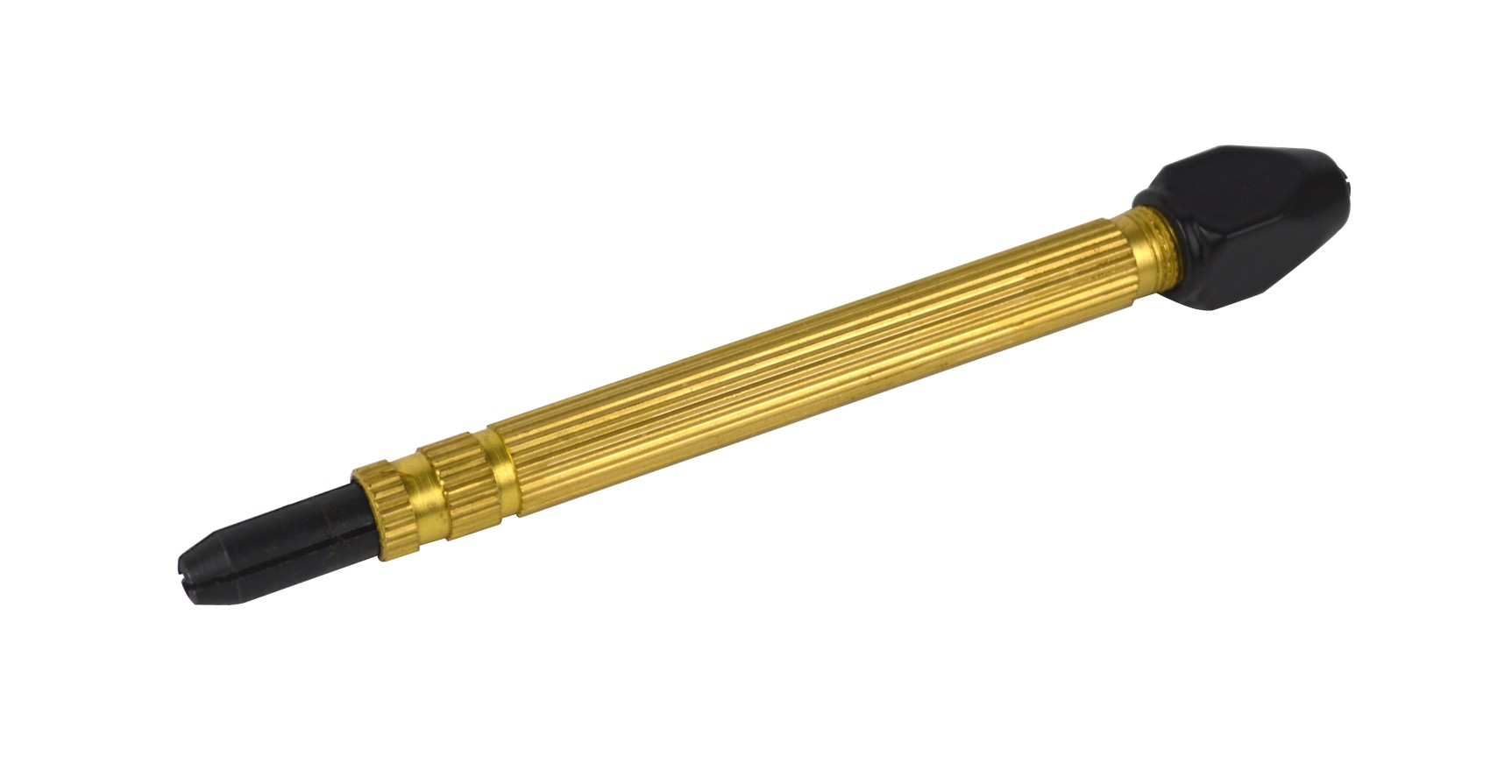 Single Brass Pin Tong Single w/ Thick Black Nut w/ 1 Extra Collet