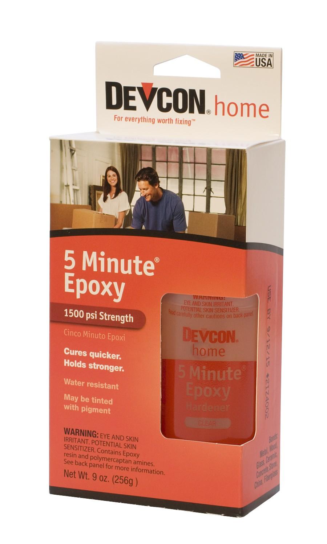 Devcon® 5-Minute Epoxy - 4-1/4 Oz Bottles (2)