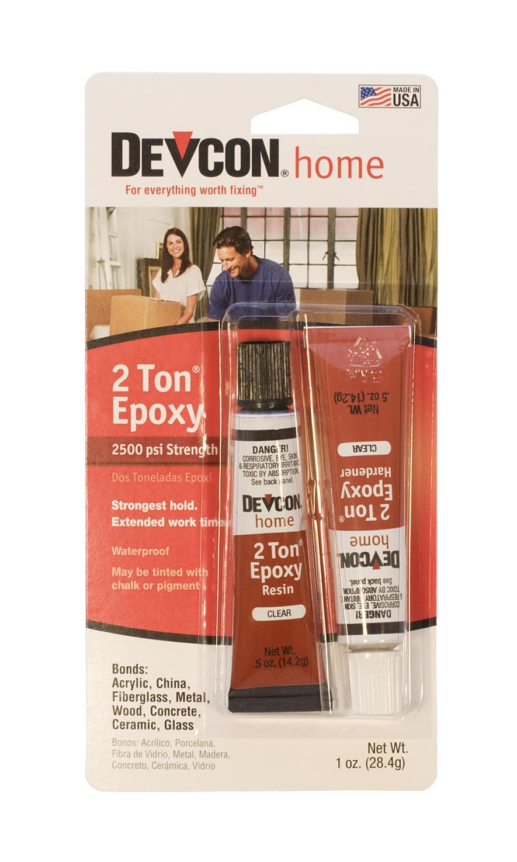 Devcon® 2-Ton Epoxy Two 1/2 Oz Tubes Multi-Purpose Adhesive