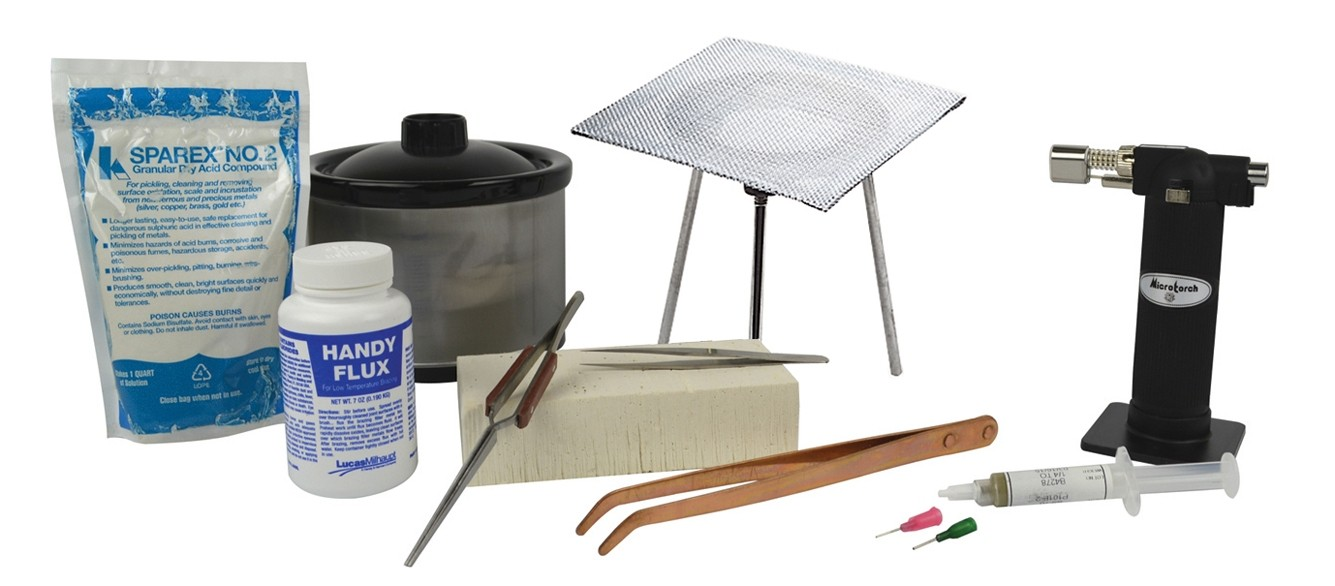 Basic Soldering Kit with 16 Oz Pickle Pot & Accessories