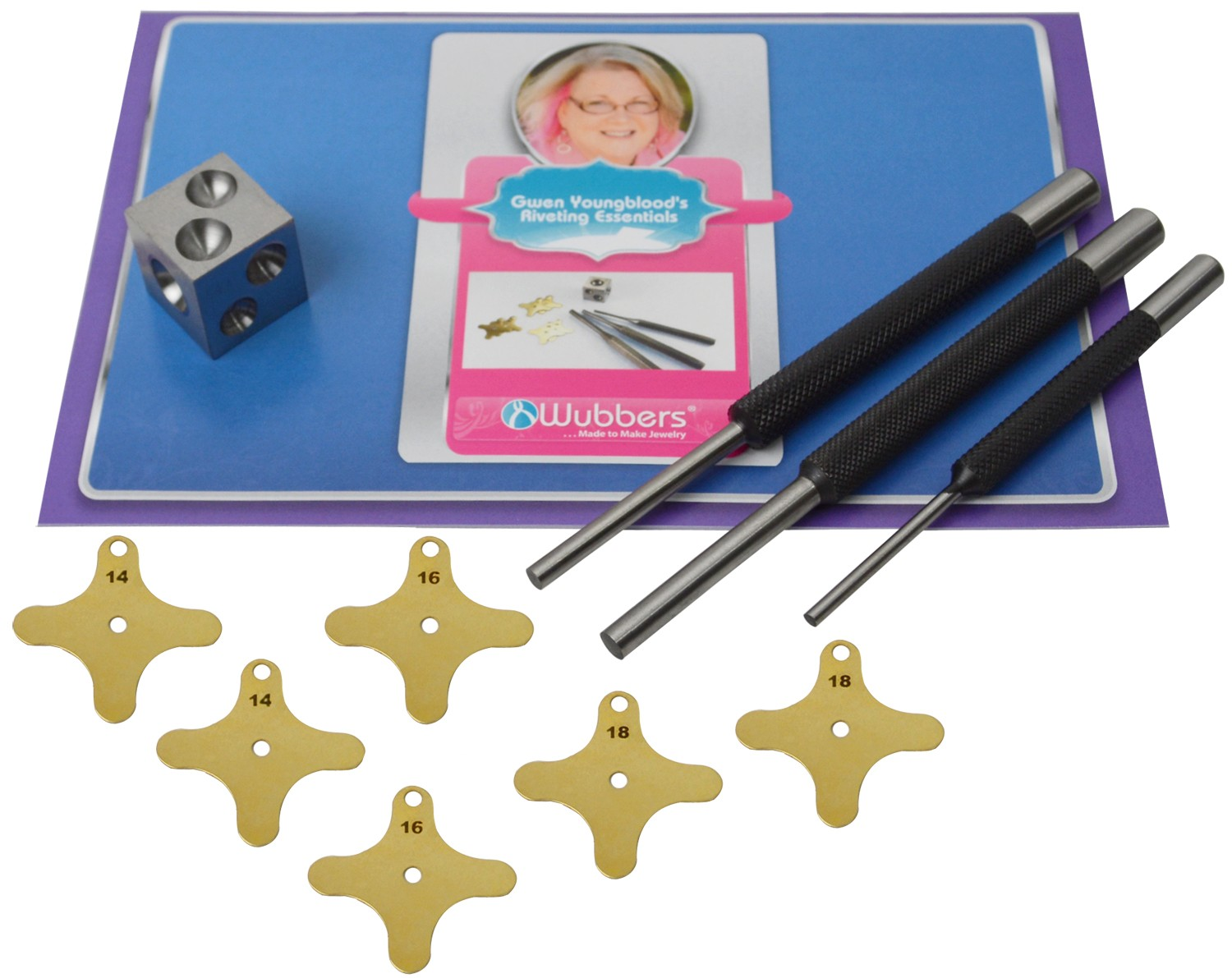 Wubbers® Riveting Punch Set