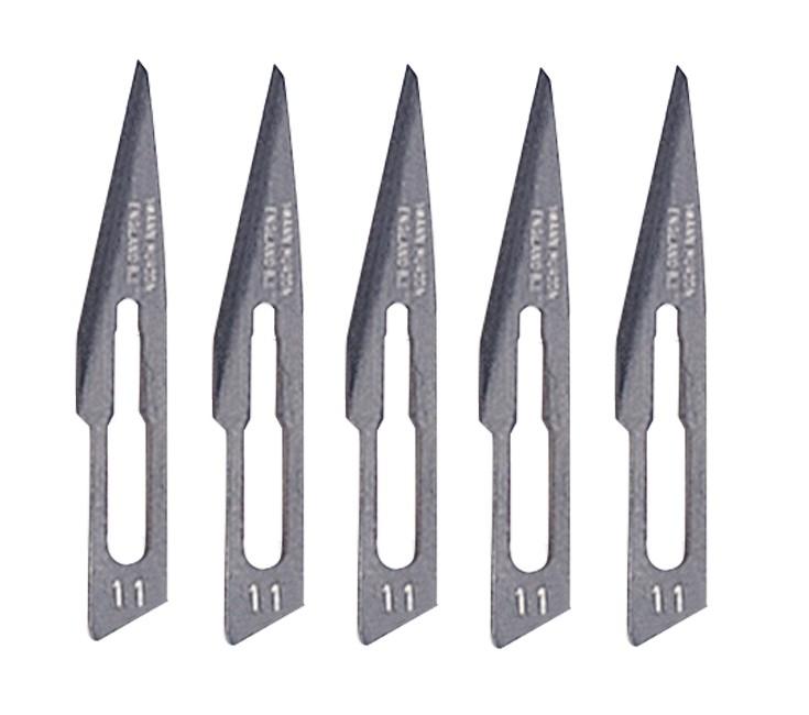 5 Pack - #11 Straight Scalpel Blades