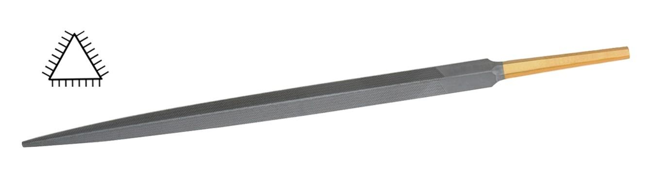 Glardon® Vallorbe Swiss Valtitan Three Square File - LPV1360