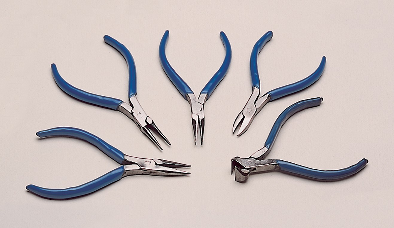 "5-1/2"" 5 Piece Economy Plier Set"