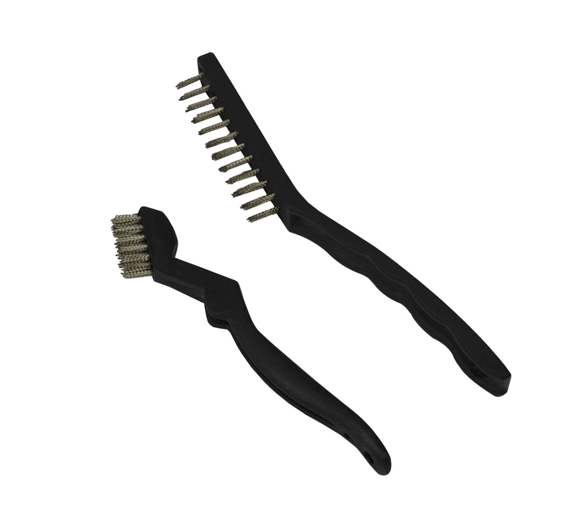 Pack of 2 Steel Bristle Brushes