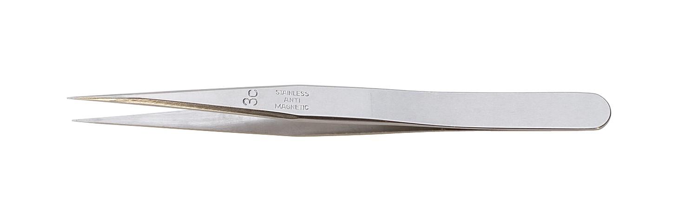 """4-3/8"""" Anti Hi-Tech Dumont Tweezers - Style 3C"""