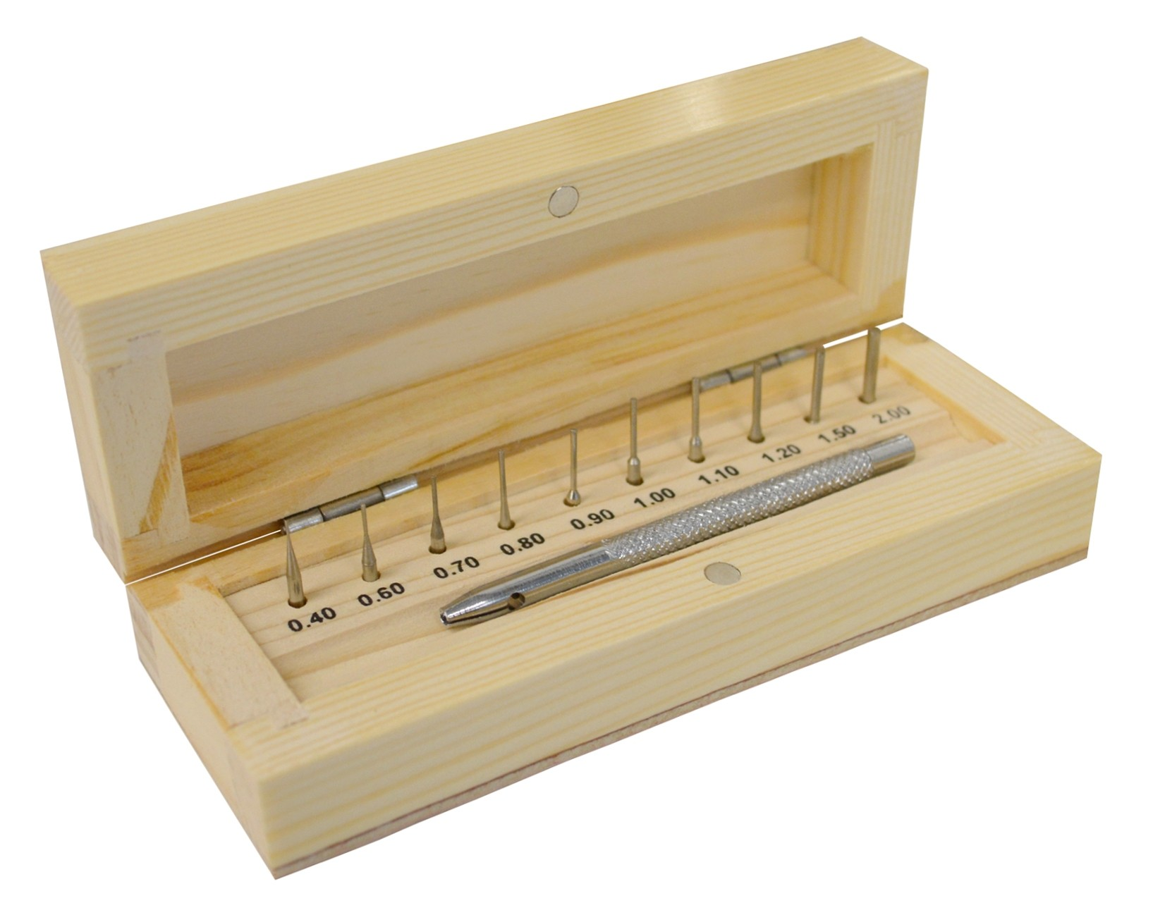 Watch Bracelet Link Pin Remover Tool With Wooden Box