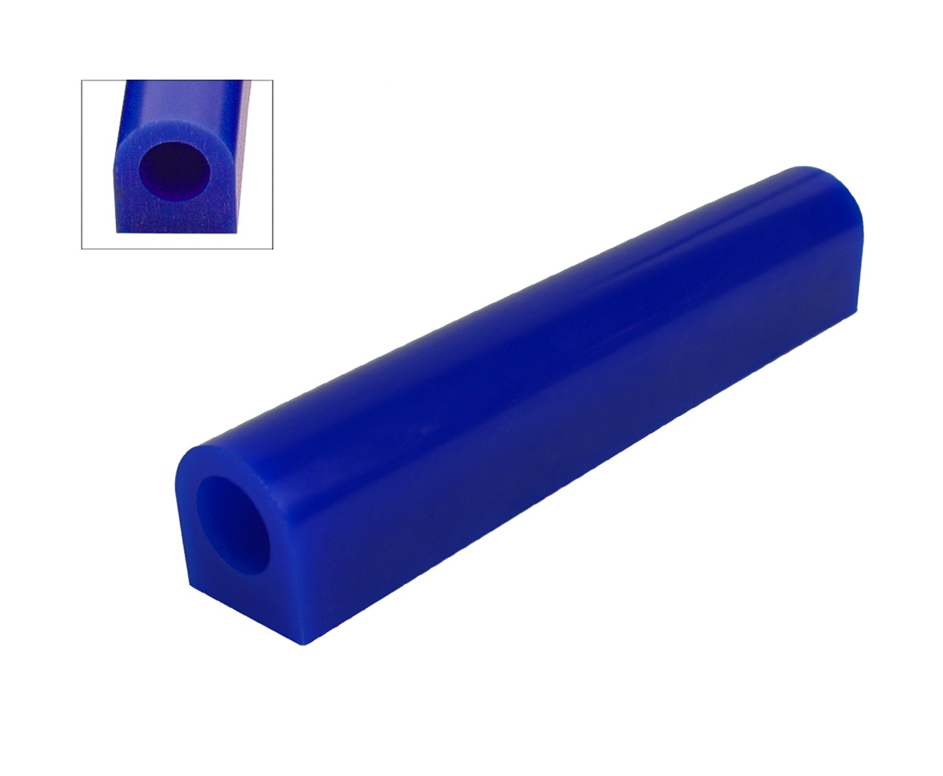 Wax Ring Tube - Blue Medium Flat Side (FS-3)