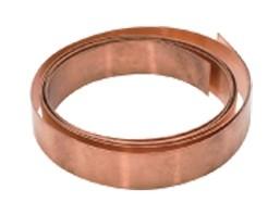 24 Gauge Copper Bracelet Wire Strip - 5' x 5\/8\