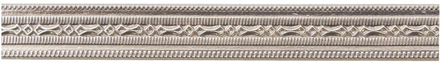 3' Nickel Silver Pattern Wire - Mini Beaded 18 Gauge