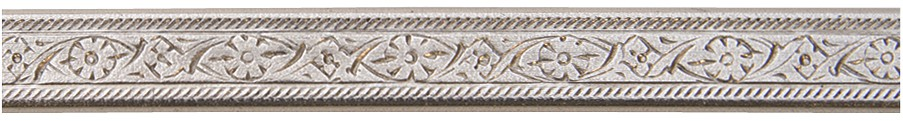 3' Nickel Silver Pattern Wire - Mini Floral 16 Gauge