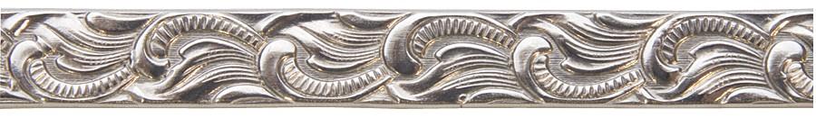 3' Nickel Silver Pattern Wire - Scroll 16 Gauge