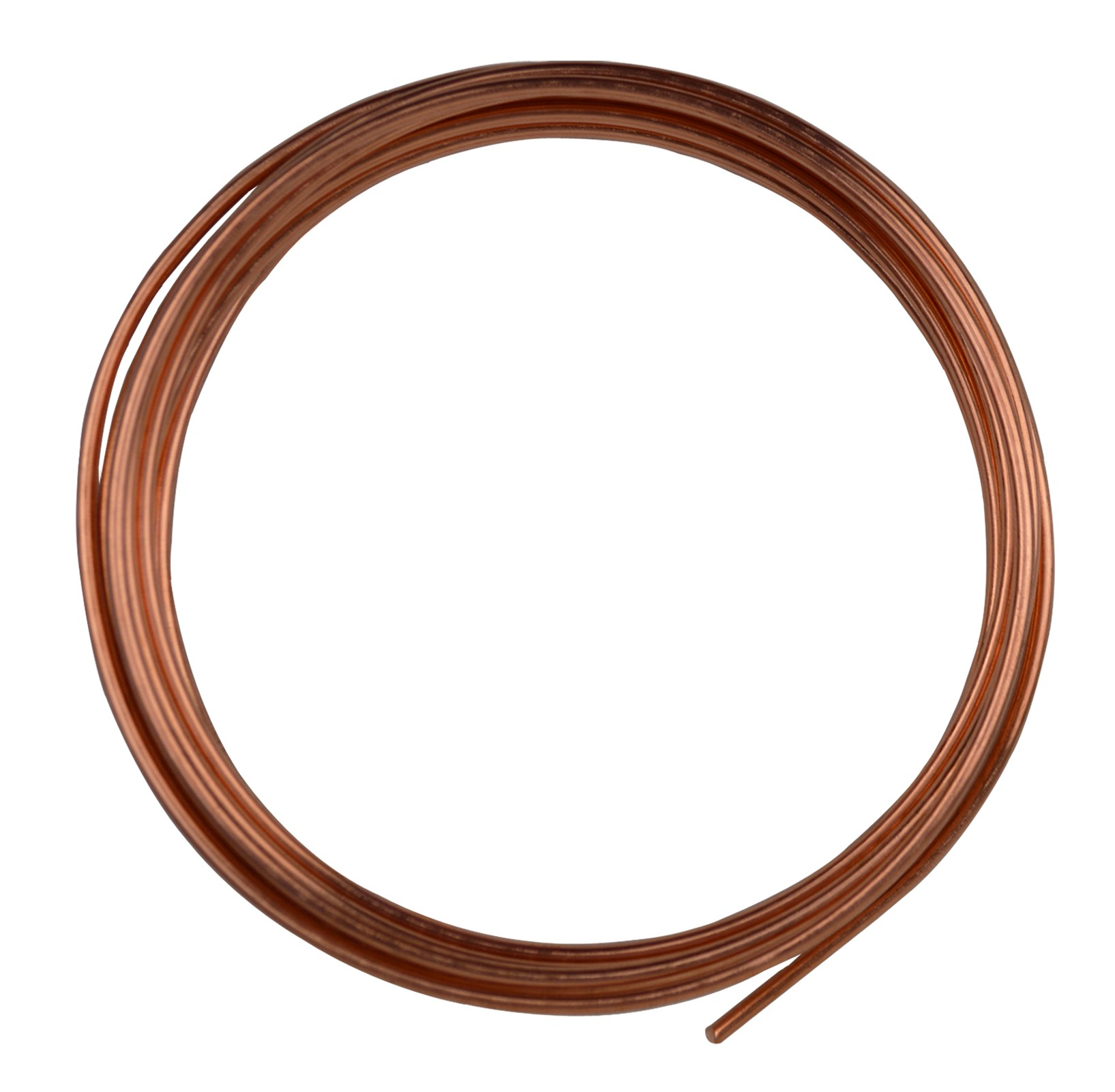 10 Round Dead Soft Copper Wire 10 Gauge