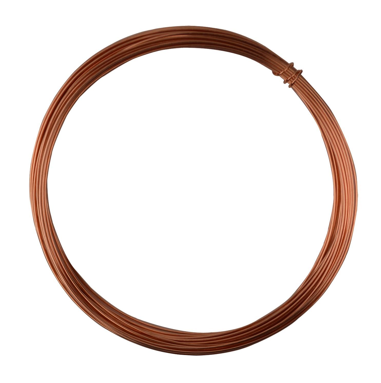 25\' Round Dead Soft Copper Wire - 20 Gauge, WIR-650.20 | PMC Supplies