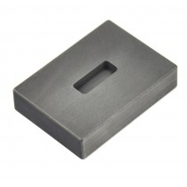 1/4 oz Troy Ounce Silver Kit Kat Graphite Ingot Mold