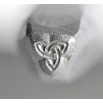 "1/8"" Steel Triquetra Celtic Knot Stamp"