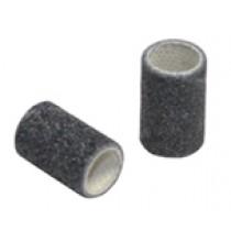 "Box of 100 Fine 120 Grit Abrasive Bands, 1/2"" Diameter"