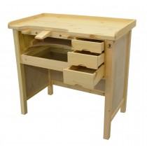 Deluxe Solid Wooden Jeweler's Workbench