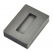 1 oz Troy Ounce Silver Kit Kat Graphite Ingot Mold