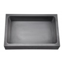 500 Troy Ounce Silver Rectangle Graphite Ingot Mold for Casting Melting Refining Silver