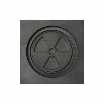 Radiation Symbol 3D Mold - Small