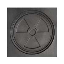 Radiation Symbol 3D Mold - Large