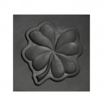Four Leaf Clover 3D Mold - Medium