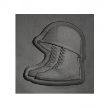 Helmet and Boots 3D Mold - Medium