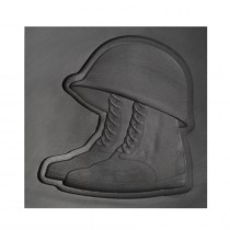 Helmet and Boots 3D Mold - Large