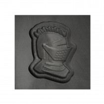 Knight Helmet 3D Mold - Medium