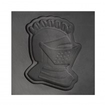 Knight Helmet 3D Mold - Large