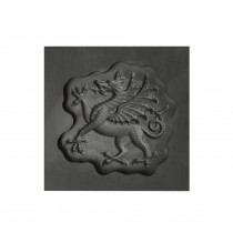 Flourish Dragon 3D Mold - Small