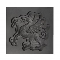 Flourish Dragon 3D Mold - Large