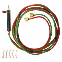 Smith® Little Torch™ Kit Tips #2-6 European Connections for Acetylene Propane Natural Gas MAPP & Hydrogen Model 249-048A