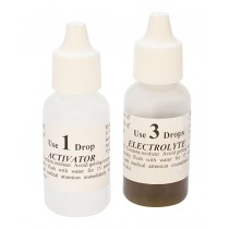 Chemical Kit for ET18 & M18 Mizar Gold Testers - Activator & Electrolyte
