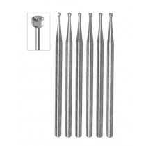 6 PACK - CUP BURS 1.00 MM