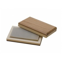 "4"" x 2"" x 1/2"" Mounted True Hard Extra-Fine Bench Stone"