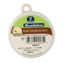 100' Bright Beadalon 7 Wire - 0.15""