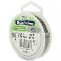 100' Bright Beadalon 7 Wire - 0.18""