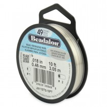 "10' .925 Sterling Silver Beadalon Wire - 0.18"""