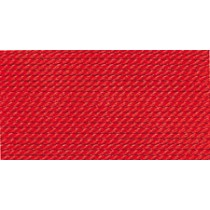 RED NYLON BEAD CORD #3