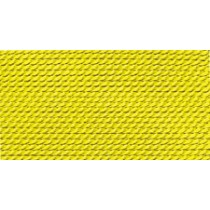 YELLOW NYLON BEAD CORD #12